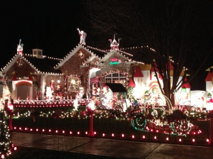 Decorated house..