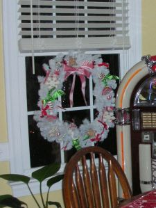 Painted wreath!