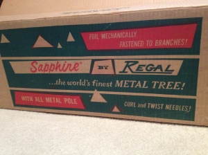 Silver tree box